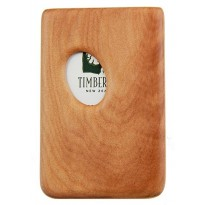 Pocket Business Card Holder - Kauri / Thumbprint