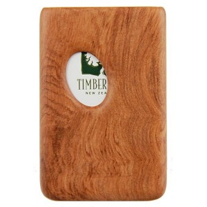 Pocket Business Card Holder - Rimu / Thumbprint