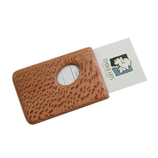 Pocket Business Card Holder Rewarewa Thumbprint