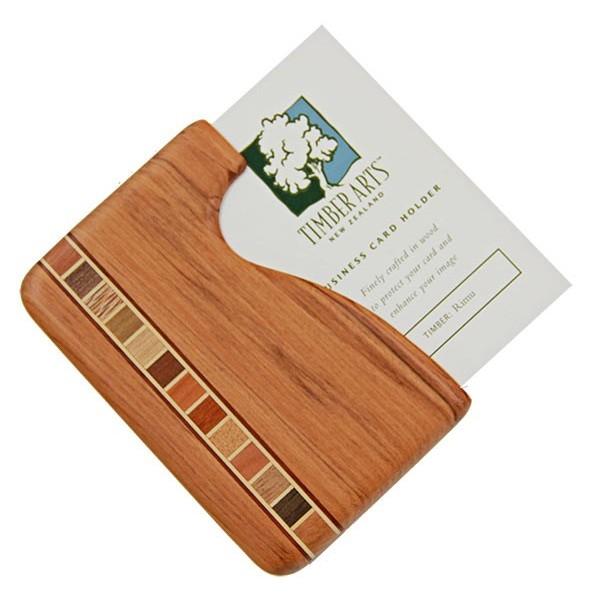 Pocket Business Card Holder Timber Arts Rimu Fish Hook Previous