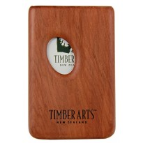 Pocket Business Card Holder - Thumbprint / Totara