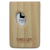 Pocket Business Card Holder - Thumbprint / Pinus radiata