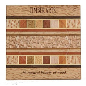 Coaster - Timber Arts / Rewarewa Borders