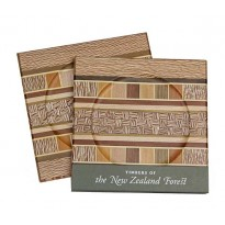 Coasters - Rewarewa Borders - Set of Two
