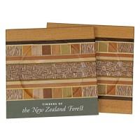 Set of Two Coasters - Timber Arts / Kauri Borders