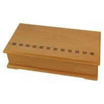 Accessory Box - Kauri - Burgundy Lining