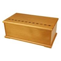Timber Arts Jewellery Box - Kauri with Sliding Tray