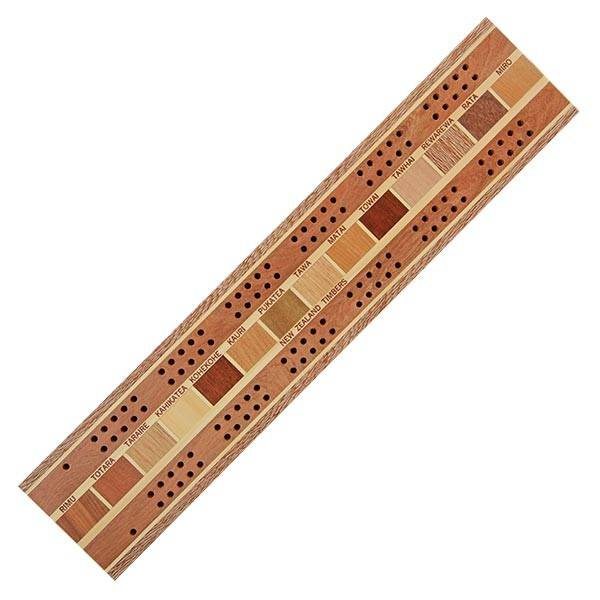 Cribbage Board 2 Player Timber Arts New Zealand
