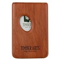 Pocket Business Card Holder - Thumbprint / Totara