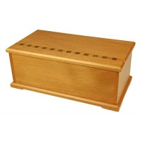 Timber Arts Jewellery Box - Kauri with Lift Out Tray